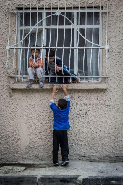 Kids behind bars // Istanbul, Turkey