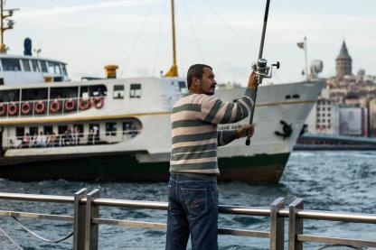 Catching dinner // Istanbul, Turkey