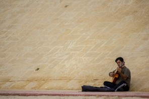 Musician Wall // Cadiz, Spain