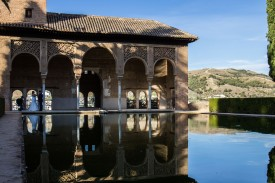 Moorish Pool // Granda, Spain