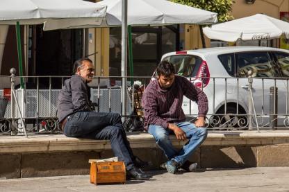 The box men // Sevilla, Spain