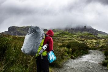 Man vs. Nature // Old Man of Storr, Scotland