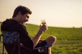 Beer and Sun // Püttlingen, Germany