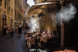 Lunch and Water // Rome, Italy