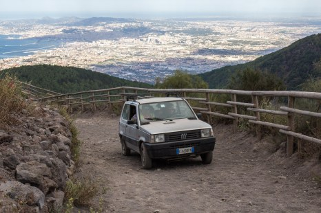 Climbing to the top // Vesuv, Italy