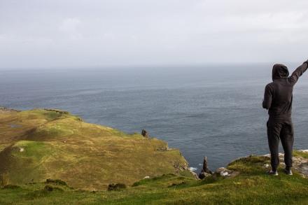 Hello friend // North Cap, Isle of Skye