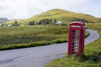Lonely Phone // North Cap, Isle of Skye