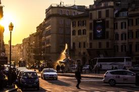 Sunset // Rome, Italy