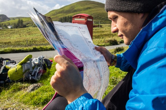 Checking the Route