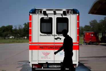 Car Wash - Every paramedic have an obligation to keep their ambulance clean and ready