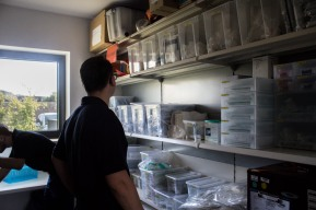 Check the Supplies - On the station itself is a storage room with the most important supplies for the paramedics