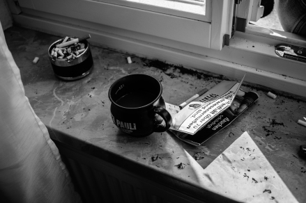 The fuel for the creativity of everyone, - tabacco and coffee.