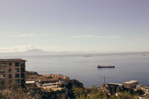 View from the Hill of Gibraltar