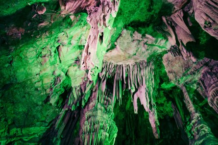 The St. Michael Cave is quite impressive.