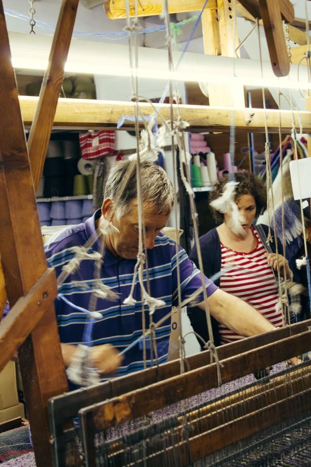 Craftsmen still exist in the rural areas of Ireland.