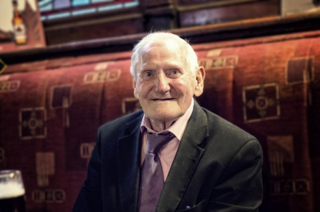 I met this man in the International Bar in Dublin. He told me about his regular visit in the pub and recommended me the delicious Irish Stew there.