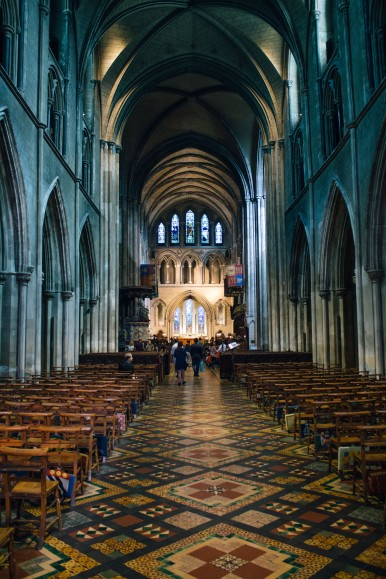 Christchurch Cathedral.