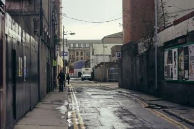 A Side Street in Dublin.