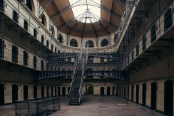 The Prison Kilmainham Gaol in Dublin.