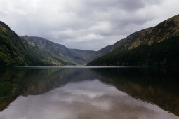 The stunning view across Glendalough