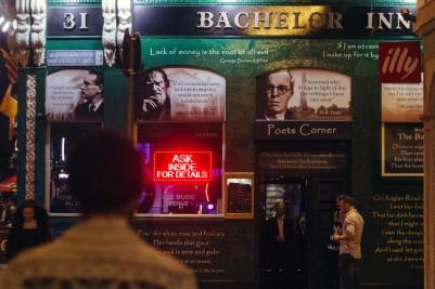 A pub in Dublin.