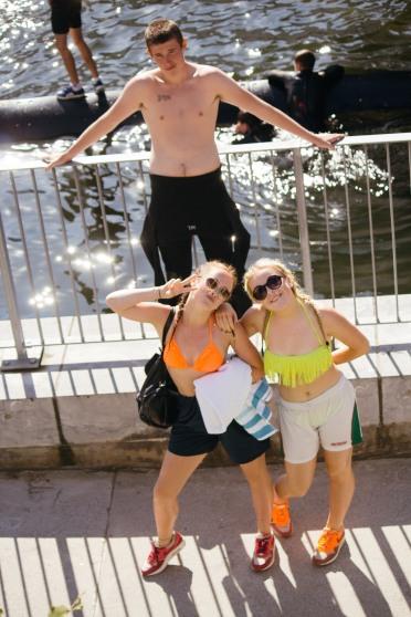 Sunny Days are rare in Ireland's Capital.