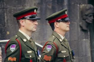 Military Parade in Kilkenny.