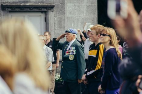 Military Parade in Kilkenny.