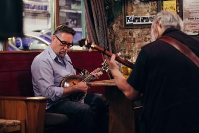 A spontaneous concert in a Pub in Cork.