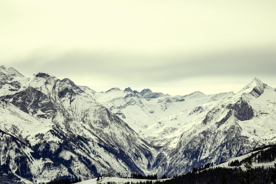 Misty Mountains // Zell am See, Austria