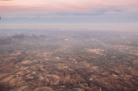 Somewhere over Andalusia, Spain