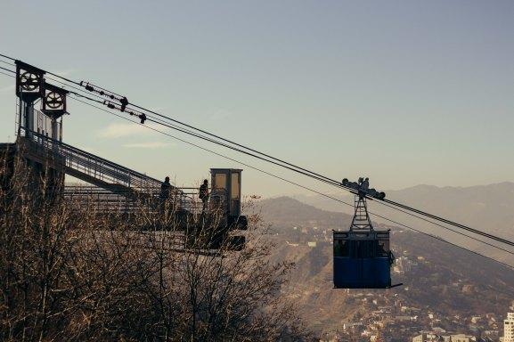 Cable Car, Turtle Lake, Tbilisi