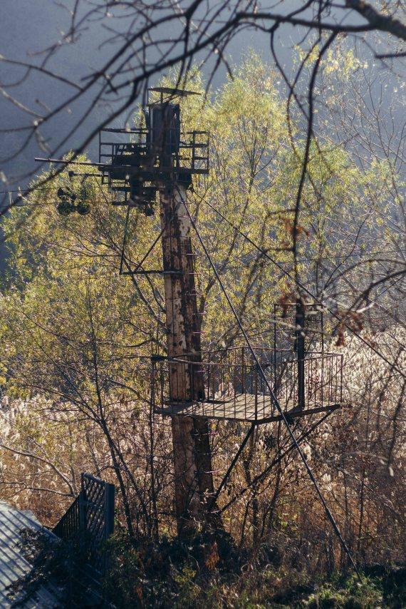 Abandoned Cable Car, Turtle Lake, Tbilisi