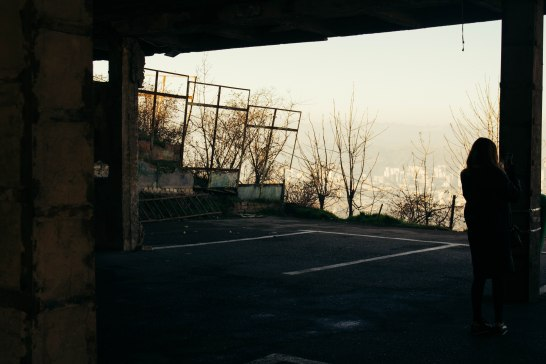 Parking House, Turtle Lake, Tbilisi