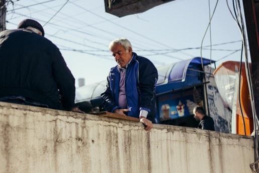 Metro in Varketeli, Tbilisi