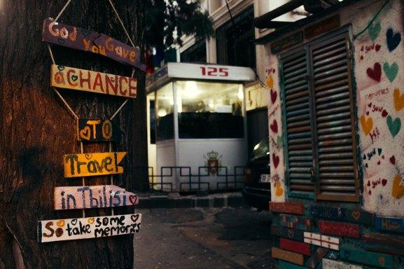 Tourist's Corner, Sololaki, Tbilisi