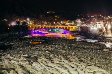 Illuminated Bridge, Kutaisi