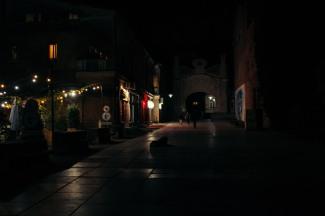 Illuminated Street, Kutaisi