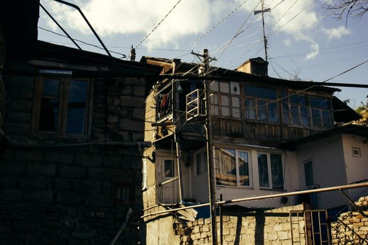 Near the Sulfur Baths, Sololaki, Tbilisi